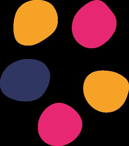 Puntos del logo Blabla español