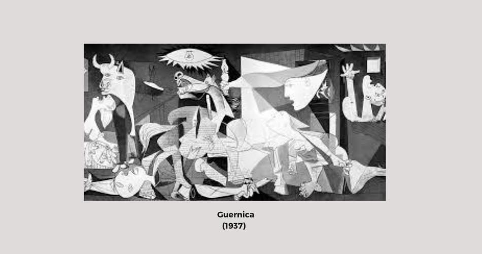Cuadro Guernica Aprende español con Picasso