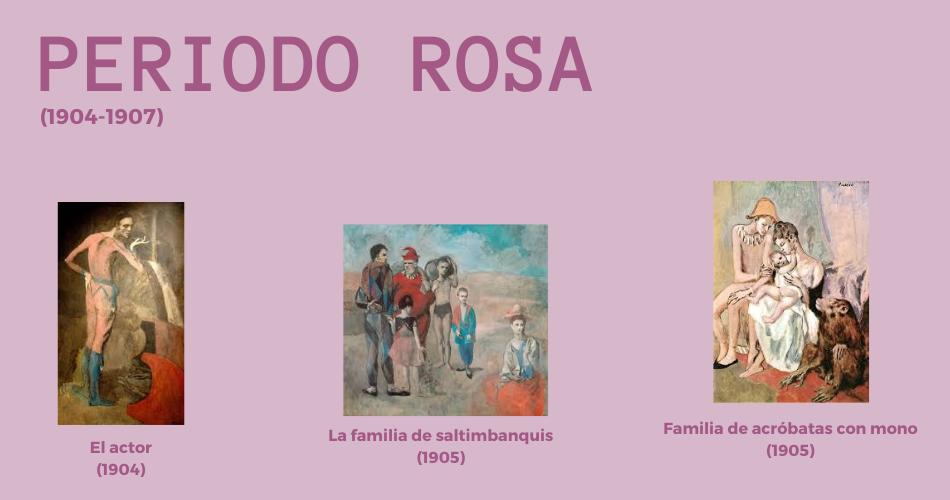 Periodo Rosa Aprende español con Picasso