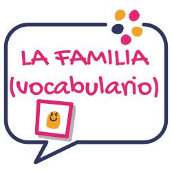 La familia vocabulario