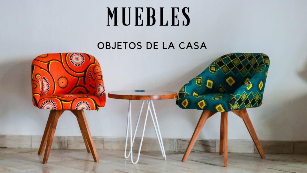 Muebles y objetos de la casa