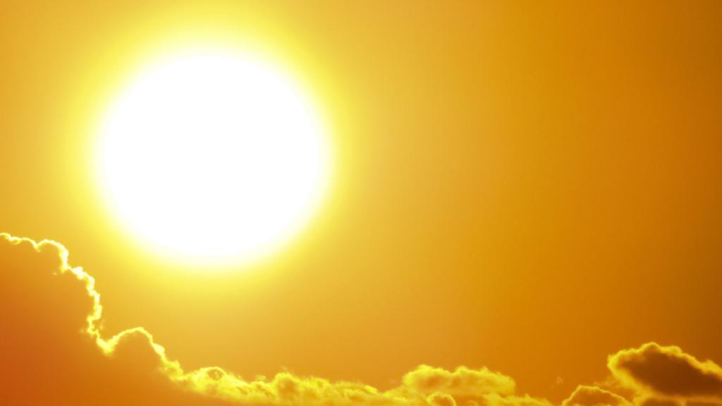 Verbo pegar: calor, hace sol